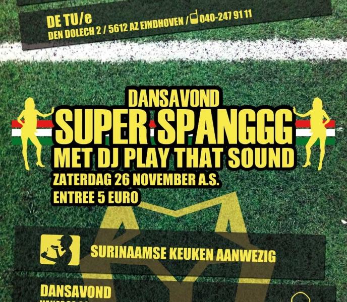 Super Spanggg flyer