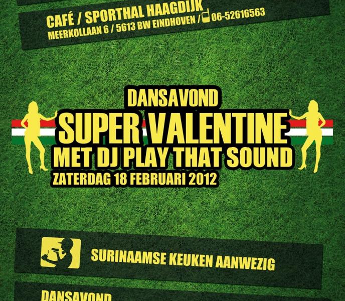 Super Valentine flyer