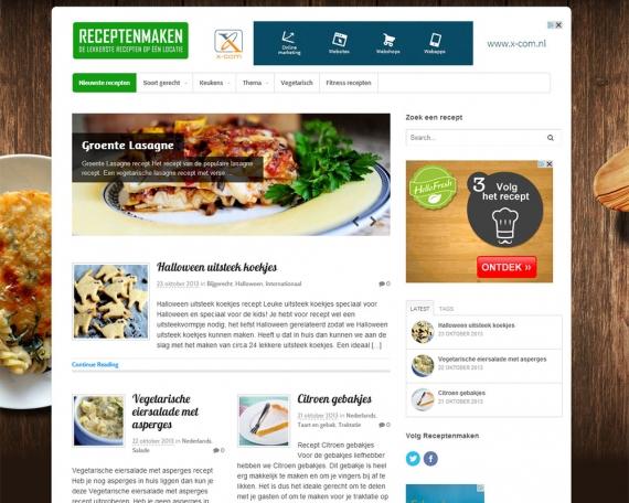 Recepten website